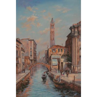 Венецианские мотивы (на подрамнике)