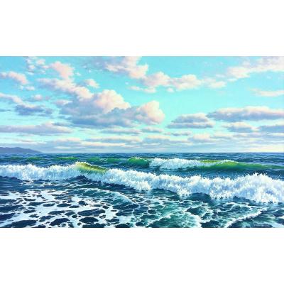 Утро на море (на подрамнике)