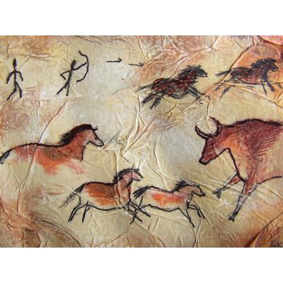 Картины на стенах пещеры: магия или искусство. Цикл статей по истории искусства: Первобытность (40 - 50 тыс. лет до н.э.)