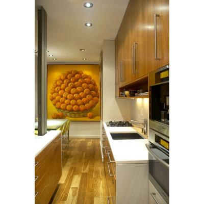 Какие картины маслом можно разместить в интерьере кухни