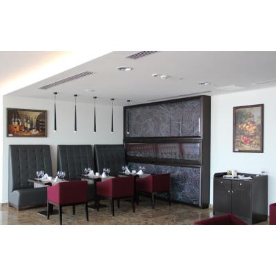 Арт-дизайн ресторана в Отеле «AZIMUT Hotel Resort & Spa Sochi» 1 мая 2014 г. по 1 октября 2014 г.