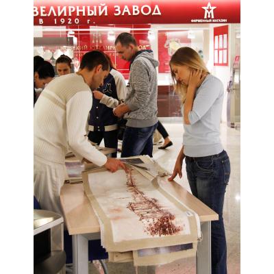 Благотворительная выставка-продажа картин: «Нежный образ» в деловом центре «Москва-Сити» с 23 августа 2012 г. по 01 ноября 2012 г.