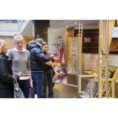 """Современные направления живописи на выставке Художественного фонда """"Шедевр"""""""
