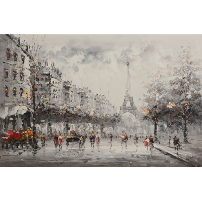 Париж. Эйфелева башня (Paris. Eiffel Tower)