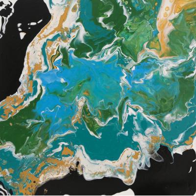 Вид из космоса (View from space - на подрамнике)