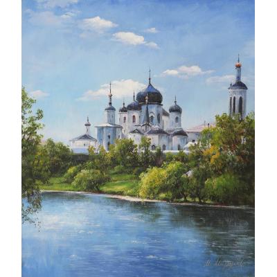 Монастырь у реки