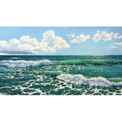 Море цвета бирюзы (на подрамнике)