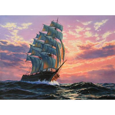 Романтика моря (на подрамнике)