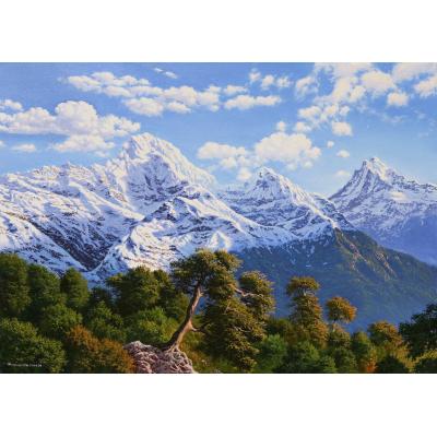 Горы (на подрамнике)