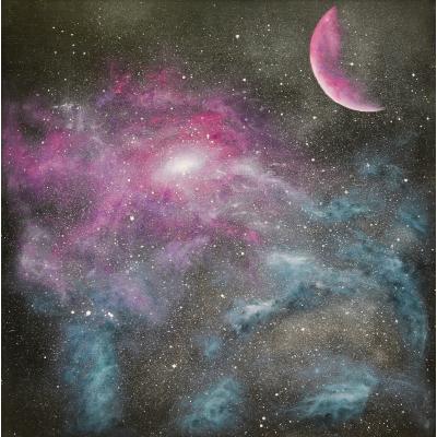 Галактика (на подрамнике)