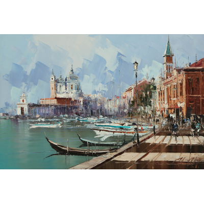 Венеция, из серии Европейских городов (на подрамнике)