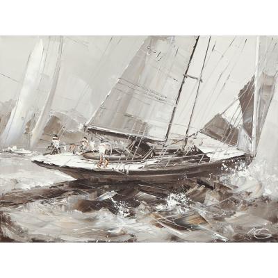Яхты (на подрамнике)