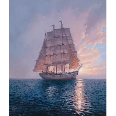 Морское путешествие (на подрамнике)