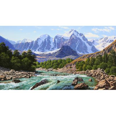 Горы Алтая (на подрамнике)